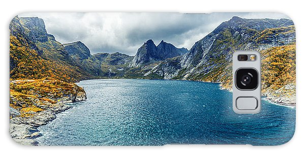 Galaxy Case featuring the photograph Dupfjorden by James Billings