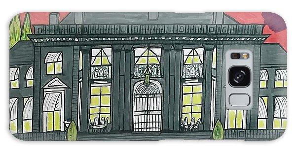 Dupont Family Mansion. Galaxy Case by Jonathon Hansen