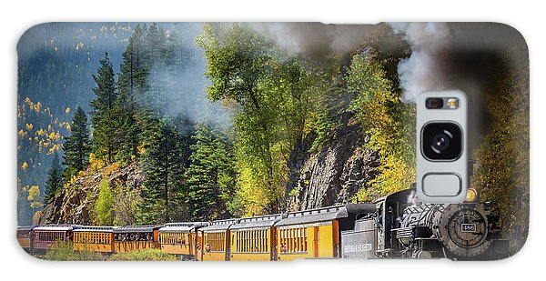 Durango-silverton Narrow Gauge Railroad Galaxy Case