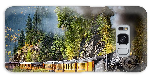 Train Galaxy S8 Case - Durango-silverton Narrow Gauge Railroad by Inge Johnsson