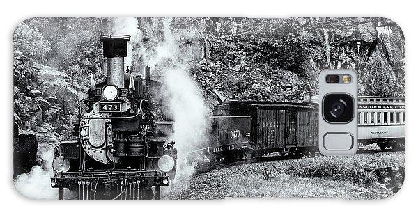 Durango Silverton Train Bandw Galaxy Case