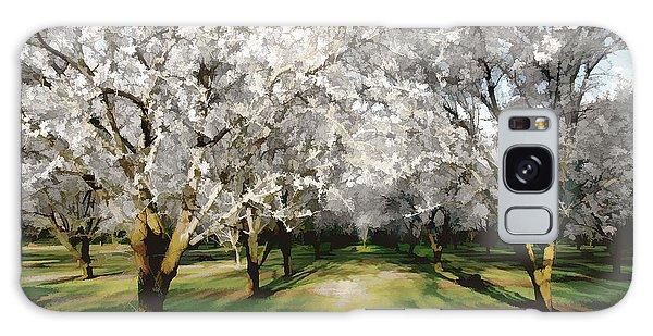 Durham Almond Blossoms Galaxy Case