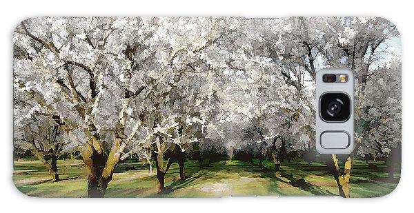 Durham Almond Blossoms Galaxy Case