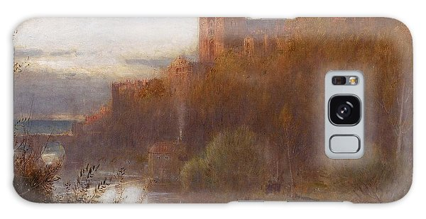 Place Of Worship Galaxy Case - Durham Cathedral by Albert Goodwin