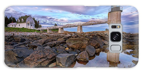 Galaxy Case featuring the photograph Dusk At Marshall Point by Rick Berk