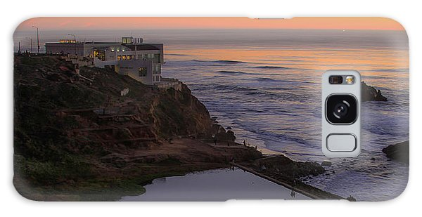 Dusk At Sutro Baths Galaxy Case