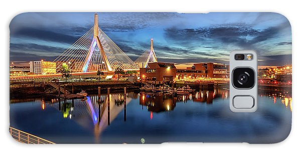 Dusk At The Zakim Bridge Galaxy Case