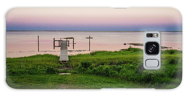 Dusk At Battle Point, Accomac, Virginia Galaxy Case