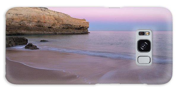 Dusk In Albandeira Beach Galaxy Case by Angelo DeVal