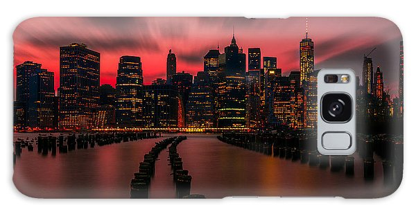 Dusk Manhattan Galaxy Case