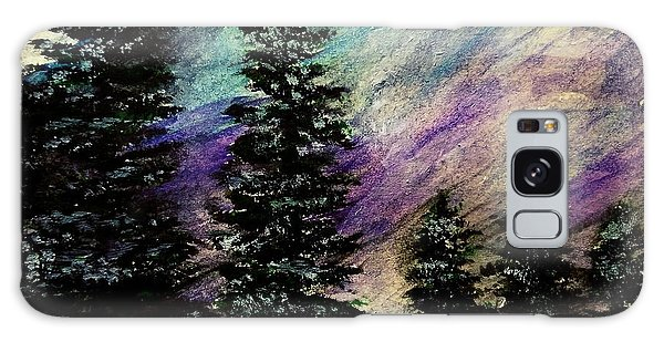 Dusk On Purple Mountain Galaxy Case