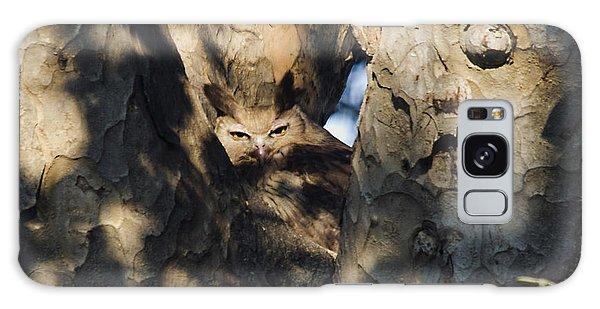 Dusky Horned Owl  Galaxy Case