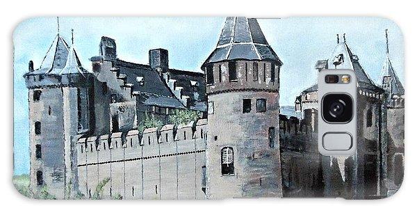 Dutch Castle In Muiden Galaxy Case by Francine Heykoop
