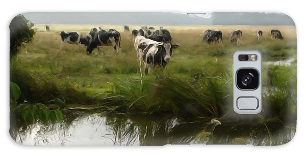 Dutch Cows Galaxy Case by Jan Daniels