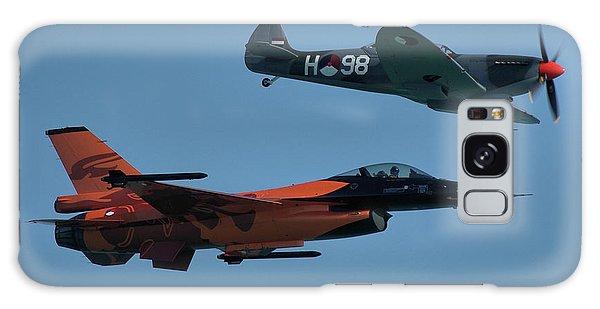 Dutch F-16 And Spitfire Galaxy Case by Tim Beach