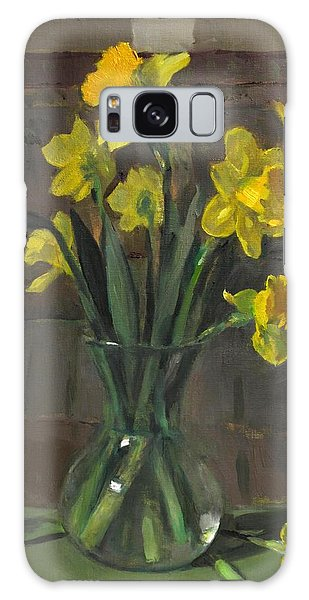 Dutch Master Narcissus In An Hourglass Vase Galaxy Case