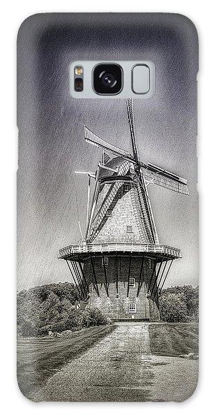 Wind Power Galaxy Case - Dutch Windmill by Tom Mc Nemar