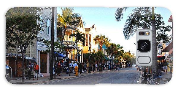 Duval Street In Key West Galaxy Case