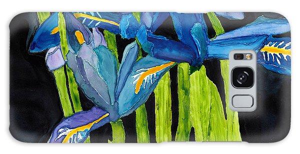 Dwarf Iris Watercolor On Yupo Galaxy Case