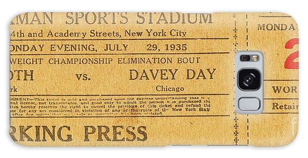 Dyckman Oval Ticket Galaxy Case by Cole Thompson