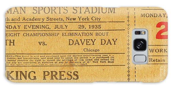 Dyckman Oval Ticket Galaxy Case
