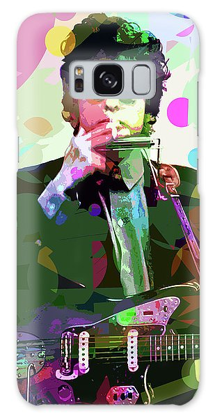 Dylan In Studio Galaxy Case by David Lloyd Glover