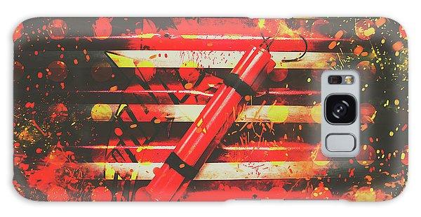 Fireworks Galaxy Case - Dynamite Artwork by Jorgo Photography - Wall Art Gallery