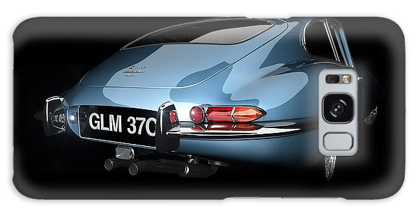 Sixties Galaxy Case - E-type Bootie by Dan Lennard