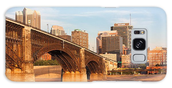 Eads Bridge At St Louis Galaxy Case by Semmick Photo