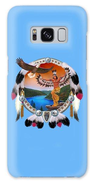 Eagle Dancer Galaxy Case by Glenn Holbrook