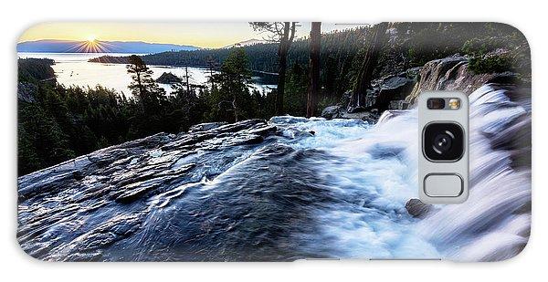Eagle Falls At Emerald Bay Galaxy Case