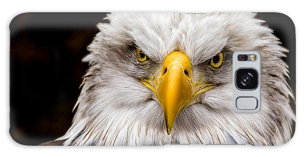 Defiant And Resolute - Bald Eagle Galaxy Case