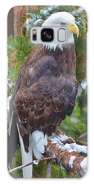 Eagle Glory Galaxy Case