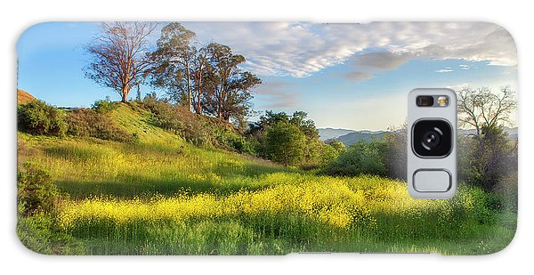 Eagle Grove At Lake Casitas In Ventura County, California Galaxy Case