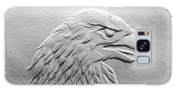 Eagle Head Relief Drawing Galaxy Case