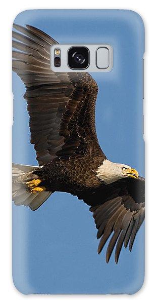 Eagle In Sunlight Galaxy Case