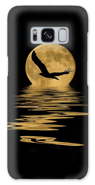 Eagle In The Moonlight Galaxy Case