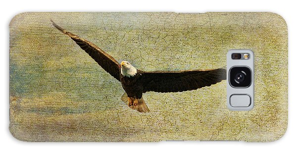 Eagle Medicine Galaxy Case by Deborah Benoit