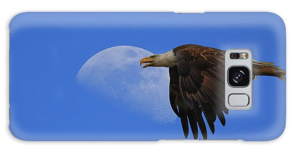 Eagle Moon Galaxy Case