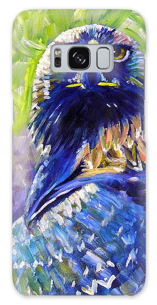 Eagle On Alert Galaxy Case