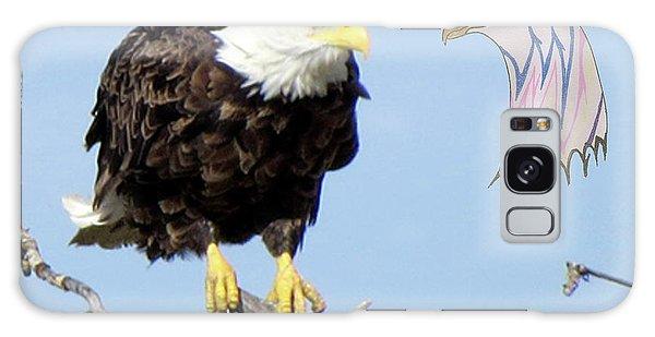 Eagle Reflection Galaxy Case