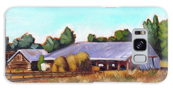 Eagle Road Barn Galaxy Case