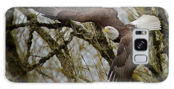Eagle Take Off Galaxy Case