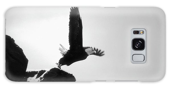 Eagle Takeoff At Adak, Alaska Galaxy Case
