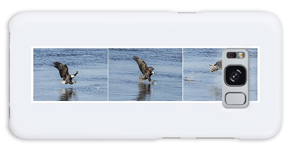 Eagle Triptych 2016-2 Galaxy Case by Thomas Young