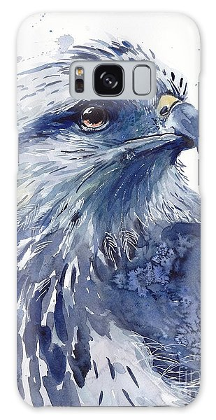 Pigeon Galaxy S8 Case - Eagle Watercolor by Suzann's Art