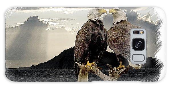 Eagles At Dawn  Galaxy Case