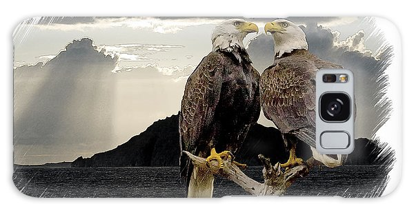 Eagles At Dawn  Galaxy Case
