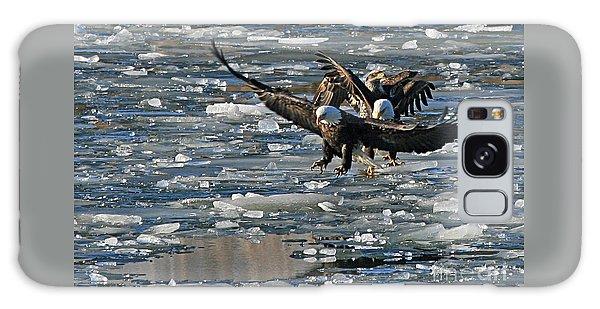 Eagles On Ice Galaxy Case