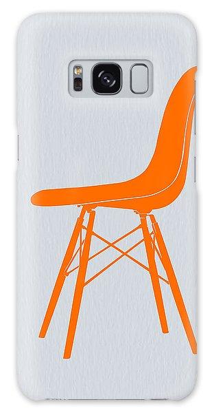 Vintage Camera Galaxy Case - Eames Fiberglass Chair Orange by Naxart Studio